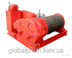 Winch electric assembly and traction TL-7A-1