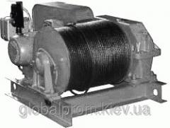 Winch electric assembly and traction TEL-1, TEL-2,