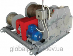 Winch electric assembly and traction TEL-10, 10000
