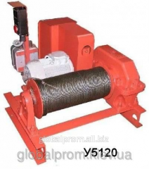 Electric winch assembly and traction U5120.60