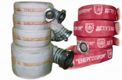 Equipment for fire extinguishing, sleeve