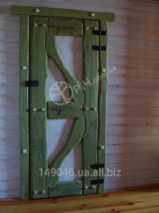 Doors from a natural tree
