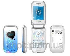 W700 женский телефон со стразами*2SIM. Оплата при