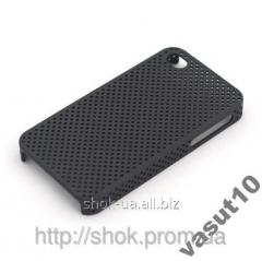 Cover (carbonic) for iPhone 4 4G black, white.