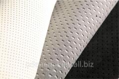 Automobile fabric alcantara perforated
