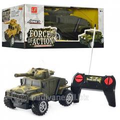 The jeep military on R/U