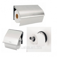 Holders of toilet paper from high-quality steel