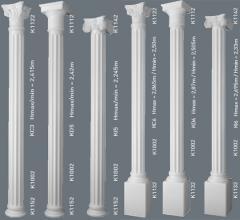 Колонны, декоративные колонны из полиуретана и