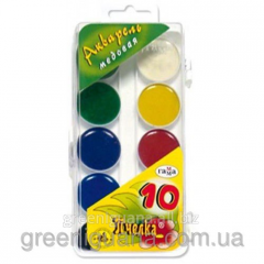 Water color 10th color Scale transparent cover