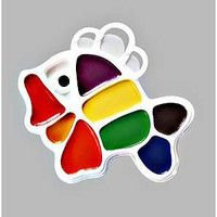 Water color of 9 Beam Small Fish colors