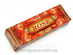 Bezosnovny aroma of Soham Rose Dhoop Sticks