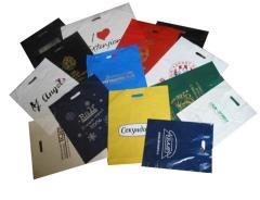 Пакети поліетиленові з логотипом від виробника