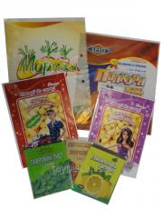 Пакети для харчових продуктів. Упакування для продуктів.