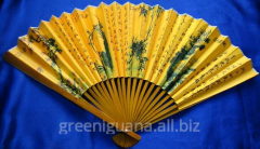 Fan bamboo and paper (33 cm) (10) (5 pieces /