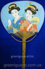 Fan fan bamboo and paper