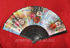Fan of plasticity and paper (21,5 cm) (12 pieces /