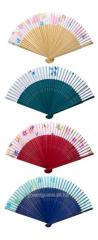 Fan silk and bamboo long (23 cm) (12sht/unitary