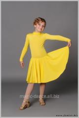 Платье детское для бальных танцев, артикул 822