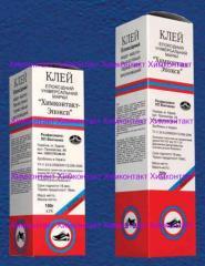 Glue epoxy Himkontakt-Epoksi of 100 g two-componen