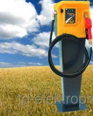 Fuel-dispensing column for diesel fuel with Vision