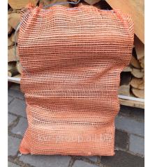 Дрова в сетках по 10 кг.(22л) ±5% , порода:дуб,