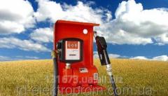 Насос для перекачки бензина со счетчиком SAG 500