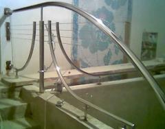 Поручни для ванных комнат из нержавеющей стали