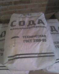 The soda calcinated (sodium carbonate) of GOST