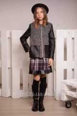 Jacket short coat for the girl - the teenager of