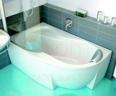 Ванна акриловая Ravak Rosa 95 L 150x95