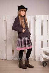 Полупальто демисезонное для девочки К-107