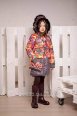 Coat winter for the girl of K-98