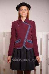 The jacket is cashmere, for the teenage girl of