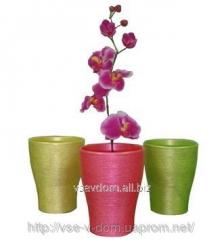 Орхидейница-кашпо керамическая