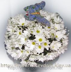 "Bouquet ""Hrizoshar"" white"