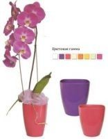 "Plastic pot for orchids ""Square"""