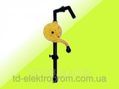 Manual rotor pomp for Adblue and slaboagressivny