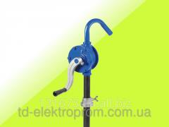 Manual pomp for gasoline pumping