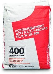 Cement M 400 PTs __/A-Sh-400 packed up