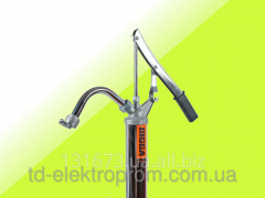 The barrel manual pump for oils and diesel fuel