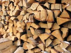 Firewood is chimney