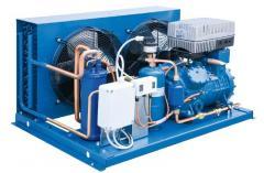 Холодильный агрегат с воздушным охлаждением