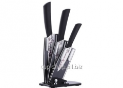 Set of ceramic knives (4 subjects)
