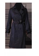 Жеские плащи Black Woman Coat