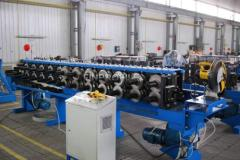 Equipment for production of a ventilating profile