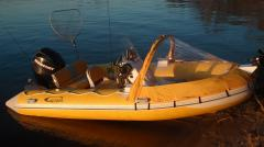 Лодка Риб САР-450 Rib пластиковое днище