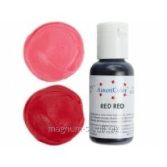 Краситель гелевый AmeriColor Super Red 21 г (цвет