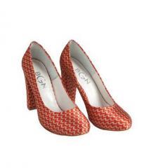 Туфли женские красные