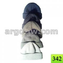 The cap is knitted double army