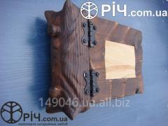 Decorative wood album